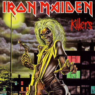 Iron Maiden - Killers (LP) (180g Vinyl) (M/M) (Sealed)